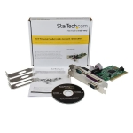 StarTech 2S1P PCI Combo Adapter Card - 2x DB-9 RS232 Serial, 1x DB-25 Parallel