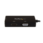 StarTech 3-in-1 USB C to HDMI DVI or VGA