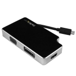Startech 3-in-1 USB-C to VGA DVI or HDMI Adapter