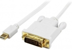 StarTech 0.9m Full HD 1080p Mini DisplayPort to DVI Active Adapter Cable - White