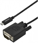 StarTech 3m USB-C Male to VGA Male Cable - Black + Be in the draw to WIN 1 of 2 $500 Prezzy Cards