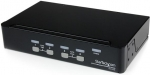 StarTech 4 Port Professional VGA USB KVM Switch with USB 2.0 Hub