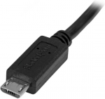 StarTech 0.5m USB 2.0 Micro-B Male to Micro-B Female Extension Cable - Black + Prezzy Card Draw Offer