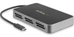 StarTech 6 Slot Thunderbolt 3 Multi-Card Reader - SD, SDHC, SDXC