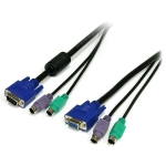 StarTech 1.8m 3-in-1 PS/2 & VGA KVM Cable