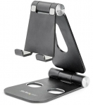 StarTech Adjustable Multi-Angle Ergonomic Phone and Tablet Stand for Desk