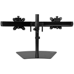 StarTech Dual Monitor Desk Stand for up to 24 Inch Flat Panel TVs or Monitors - Up to 8kg per arm