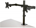 StarTech Crossbar Dual Monitor Desk Mount Bracket for up to 32 Inch Flat Panel TVs or Monitors - Up to 8kg (per Monitor)