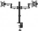 StarTech Dual Monitor Desk Mount Bracket for up to 32 Inch Flat Panel TVs or Monitors - Up to 8kg (per Monitor)