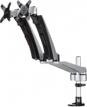 StarTech Articulating Dual Monitor Desk Mount Bracket for up to 30 Inch Flat Panel TVs or Monitors - Up to 9kg per Display