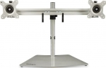 StarTech Dual Monitor Monitor Desk Stand for up to 24 Inch Flat Panel TV's or Monitors - Up to 8kg