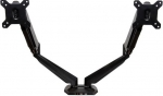 StarTech Articulating Dual Monitor Desk Mount Bracket for up to 30 Inch Monitors - Up to 8kg per Display