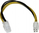 StarTech ATX 12V 4 Pin P4 CPU Power Extension Cable