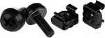 StarTech M5 Black Mounting Screws and Cage Nuts - 100 Pack + Be in the draw to WIN 1 of 2 $500 Prezzy Cards