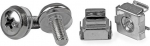 StarTech M5 Silver Mounting Screws and Cage Nuts - 50 Pack + Prezzy Card Draw Offer