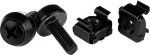 StarTech M5 Black Mounting Screws and Cage Nuts - 50 Pack + Prezzy Card Draw Offer