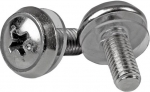 StarTech M5 Silver Mounting Screws - 100 Pack + Prezzy Card Draw Offer