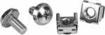 StarTech M6 Silver Mounting Screws and Cage Nuts - 20 Pack + Prezzy Card Draw Offer