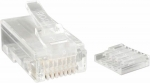 StarTech Cat 6 RJ-45 Modular Plugs for Solid Wires - 50 Pack
