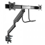 Startech Desk Mount Dual Monitor Arm with USB & Audio - Up to 32 Inch Display + Prezzy Card Draw Offer
