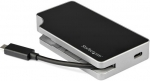 StarTech USB-C Travel Dock with Power Delivery - USB-C, HDMI, VGA, RJ-45, USB Type-A