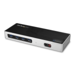 StarTech Dual 4K Docking Station with 6 x USB 3.0 Ports - HDMI or DisplayPort