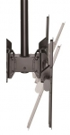 StarTech Dual Back-to-Back Ceiling Mount Bracket for 32-75 Inch Flat Panel TVs or Monitors - Up to 45kg + Prezzy Card Draw Offer