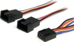 StarTech 0.3m 4 Pin Fan Power Splitter Cable + Be in the draw to WIN 1 of 2 $500 Prezzy Cards
