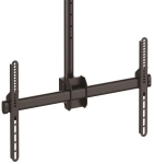 StarTech 2.5 to 3m Ceiling Mount Bracket for 32-75 Inch Curved & Flat Panel TVs or Monitors - Up to 50kg + Prezzy Card Draw Offer