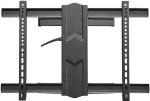 StarTech Full Motion Single Monitor Wall Mount Bracket for 37-80 Inch Curved & Flat Panel TVs or Monitors - Up to 50kg