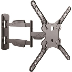 StarTech Heavy Duty Steel Full Motion Wall Mount Bracket for 22-55 Inch TVs or Monitors - Up to 35kg