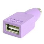 StarTech USB Type A Female to 2x PS/2 Male Adapter