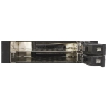 StarTech Trayless Hot Swap Drive Rack for 3.5 Inch Bay to 2x 2.5 Inch SATA HDD/SSD with Backplane + Prezzy Card Draw Offer