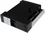 StarTech Trayless Hot Swap Drive Bay for 5.25 Inch Bay to 1x 3.5 Inch SATA/SAS & 1x 2.5 Inch SATA/SAS Drive with Backplane