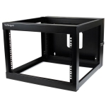 StarTech 6RU Open Frame Wall Mount Server Rack - 560mm Deep
