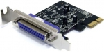 StarTech 1 Port PCI Express Low Profile Parallel Adapter Card - SPP/EPP/ECP