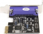 StarTech 1 Port PCI Express Low Profile DB-25 Parallel Adapter Card
