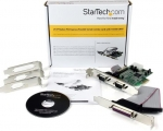 StarTech 2 Port RS232 Serial + 1 Port Parallel PCI Express Adapter Card