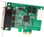 StarTech 4 Port Low Profile Native RS232 PCI Express Serial Card with 16950 UART