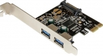 StarTech 2 Port USB 3.0 PCI Express Controller Card with SATA Power