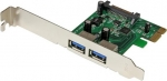StarTech 2 Port USB 3.0 PCI Express Controller Card with SATA Power & UASP