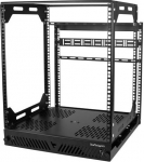 StarTech 12RU Adjustable Depth 4 Post Slide Out Server Cabinet + Be in the draw to WIN 1 of 2 $500 Prezzy Cards