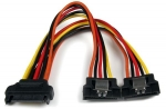 StarTech 1x SATA to 2x Latching SATA Splitter Y Cable