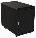 StarTech 15RU Adjustable Depth Server Cabinet with Castors & Leveling Feet + Be in the draw to WIN 1 of 2 $500 Prezzy Cards