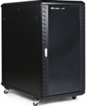 StarTech 22RU 990mm Deep Knock Down Server Cabinet with Casters