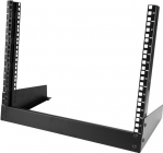Startech 8U 2-Post Open Frame Desktop Rack