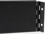 StarTech 2RU Hinged Solid Blank Rack Panel