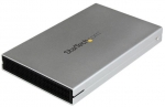 StarTech USB 3.0 2.5 Inch SATA Drive Enclosure with Aluminum Casing - Silver + Prezzy Card Draw Offer