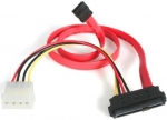 StarTech 45cm SAS 29 Pin to SATA Cable with LP4 Power - Red + Be in the draw to WIN 1 of 2 $500 Prezzy Cards