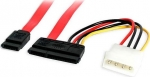 StarTech 45cm SATA III 6 Gbps Data & Power Cable